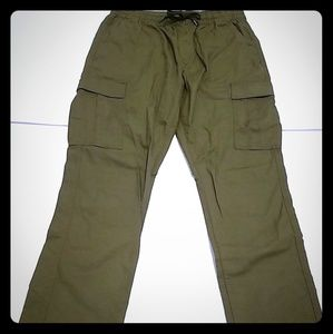 Old Navi Khaki Cargo Pants For Women's